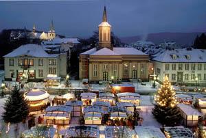 Weihnachten 2004 - Weihnachtsmarkt in Arnsberg