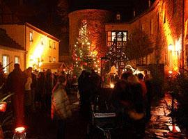 Weihnachtsmarkt Schloss Hohenlimburg  Weihnachten 2010