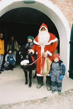 Weihnachtsmarkt auf Gut Pronstorf  Weihnachten 2005