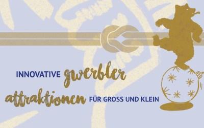 Innovative Gwerbler und Attraktionen für Gross und Klein