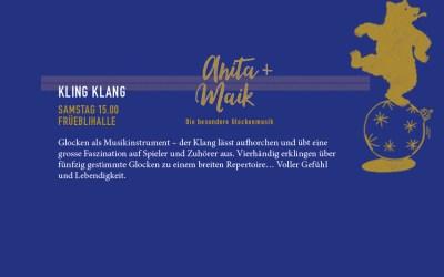 KLING KLANG: SAMSTAG, 15.00 FRÜEBLIHALLE