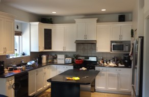 how to replace kitchen cabinets john boos island cabinet painting - update your dated ...