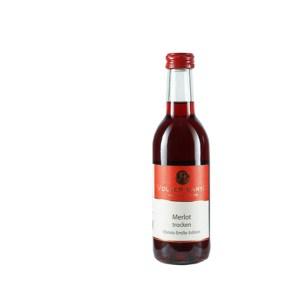Weinflasche Merlot Trocken 250ml Rheinhessen (Bild: Weingut Volker Barth)