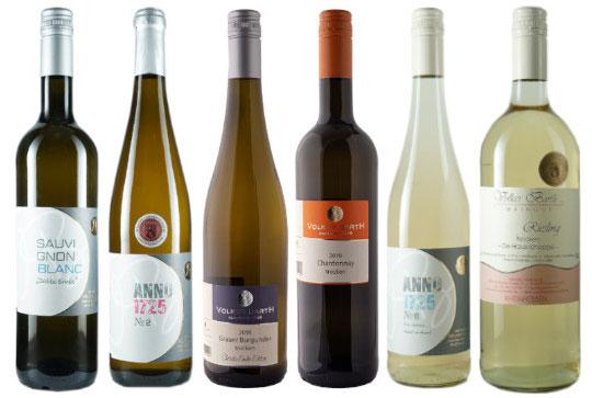 Flaschen Weine mit Kammerpreis-Auszeichnung von Weingut Volker Barth Rheinhessen