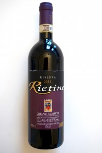Mitgenommen von Rietine: 2011 Chianti Classico Riserva DOCG