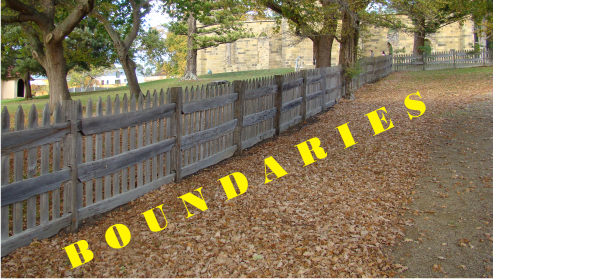fence and boundaries