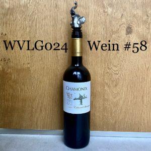 Wein der Woche: Chamonix Cabernet Sauvignon 2007