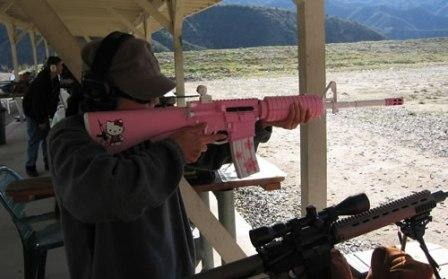 hello kitty assault rifle1 Hello Kitty: The Funny, The Weird, And The Horrifying picture