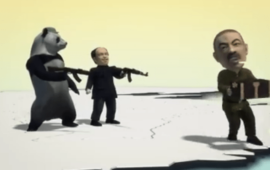 Taiwanese Video Features Pandas Shooting AK-47s