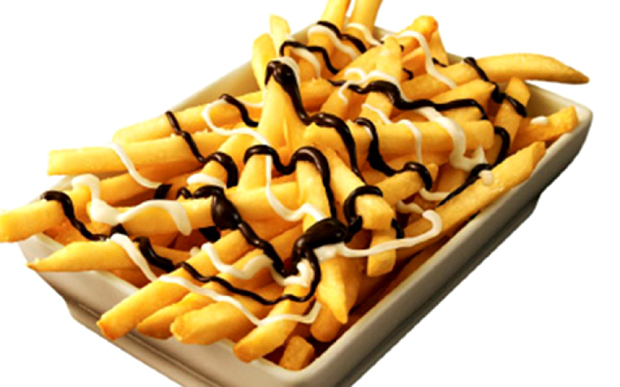 Chocolate covered McDonald's French Fries