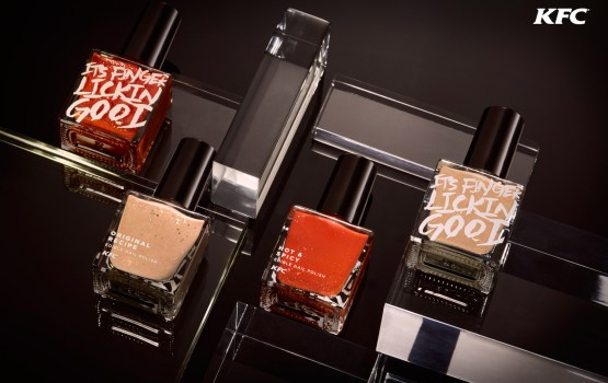 KFC Unveils Edible Nail Polish
