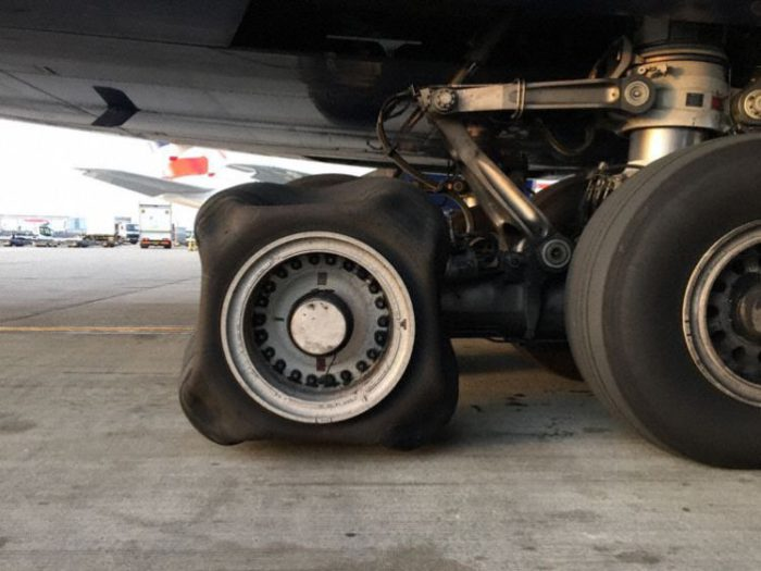 Square Airplane wheel