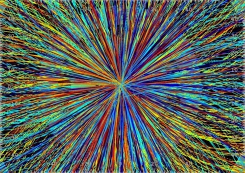 First images from the artificially created big bang at CERN