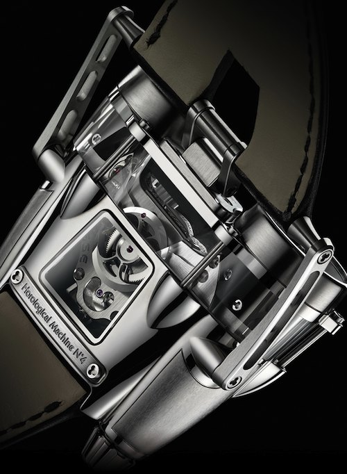 HM4 Thunderbolt watch BACK by MB&F