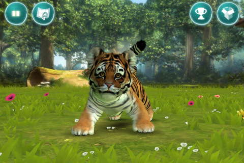 Kinectimals for iOS Tiger Wanna Play