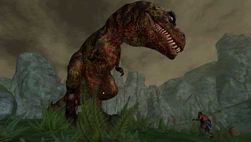 BC - Lionhead developed but cancelled game. - T Rex