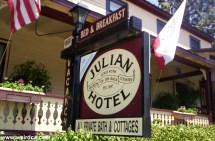 Gold Rush Hotel Julian