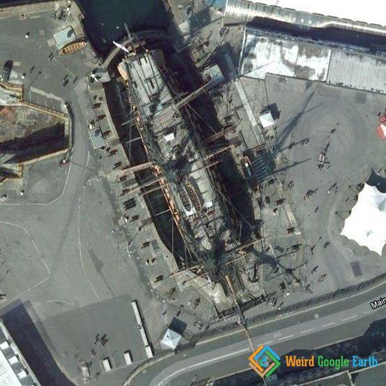 Weird Google Earth