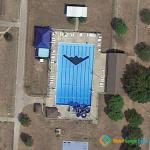 Stealth Bomber in Swimming Pool, Whiteman AFB, MO, USA