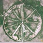Strange Wagon Wheel in Terreton, Idaho, USA