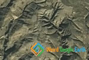Mysterious Tower in the Mountains, Bao De Xian, Xinzhou, Shanxi, China
