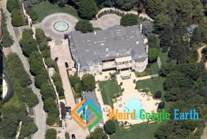 Denzel Washington's House, Beverly Hills, California, USA