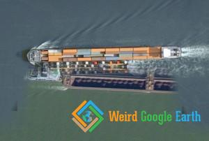 Cargo Ship Crash, Rotterdam, The Netherlands