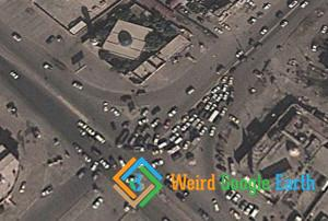 Traffic Deadlock in Baghdad, Baghdad, Iraq