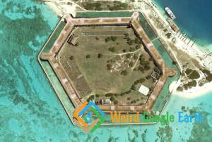 Dry Tortugas, Dry Tortugas National Park, Key West, Florida, USA