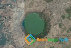 Lonar Lake, Lonar, Maharashtra, India