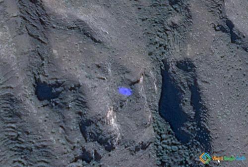 Coloured Spots In the Hills, Calca Province, Peru