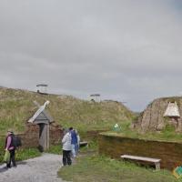 Viking village in Canada