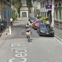Dabbing Cyclist