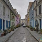 Rue Cremieux, Paris, France