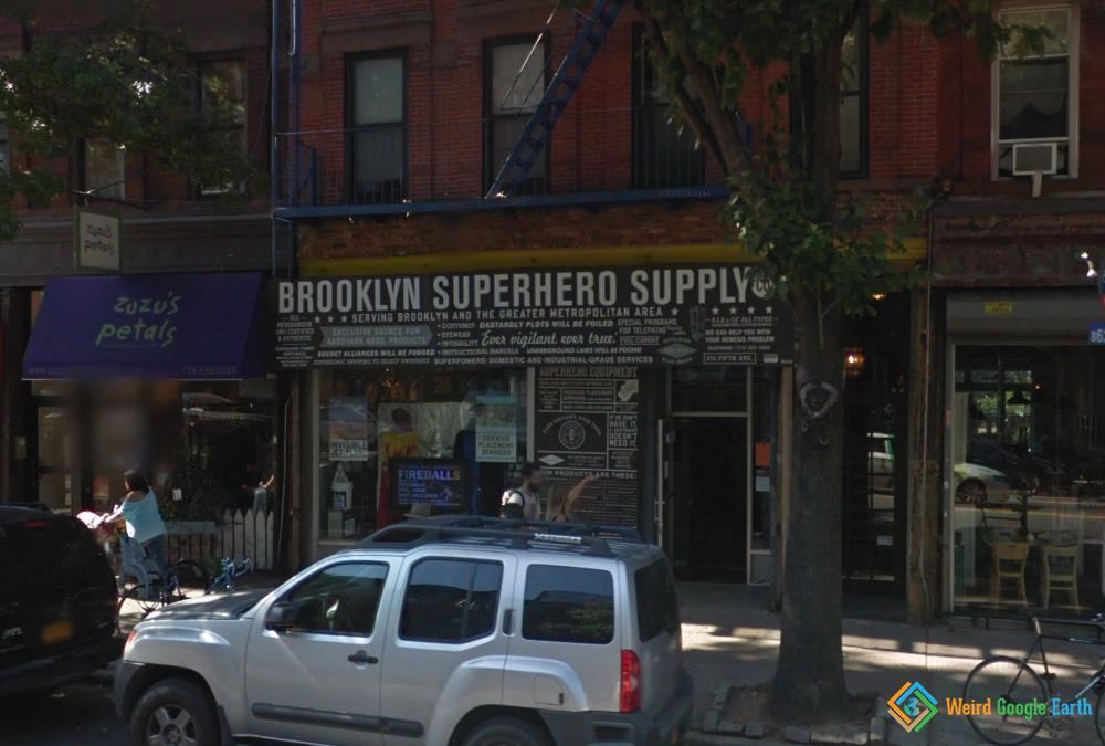 Brooklyn Superhero Supply, New York City, New York, USA