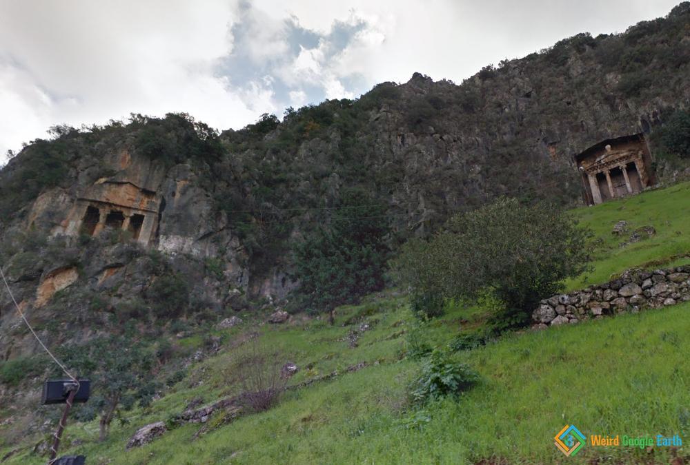 Lycian Tombs, Mugla, Turkey