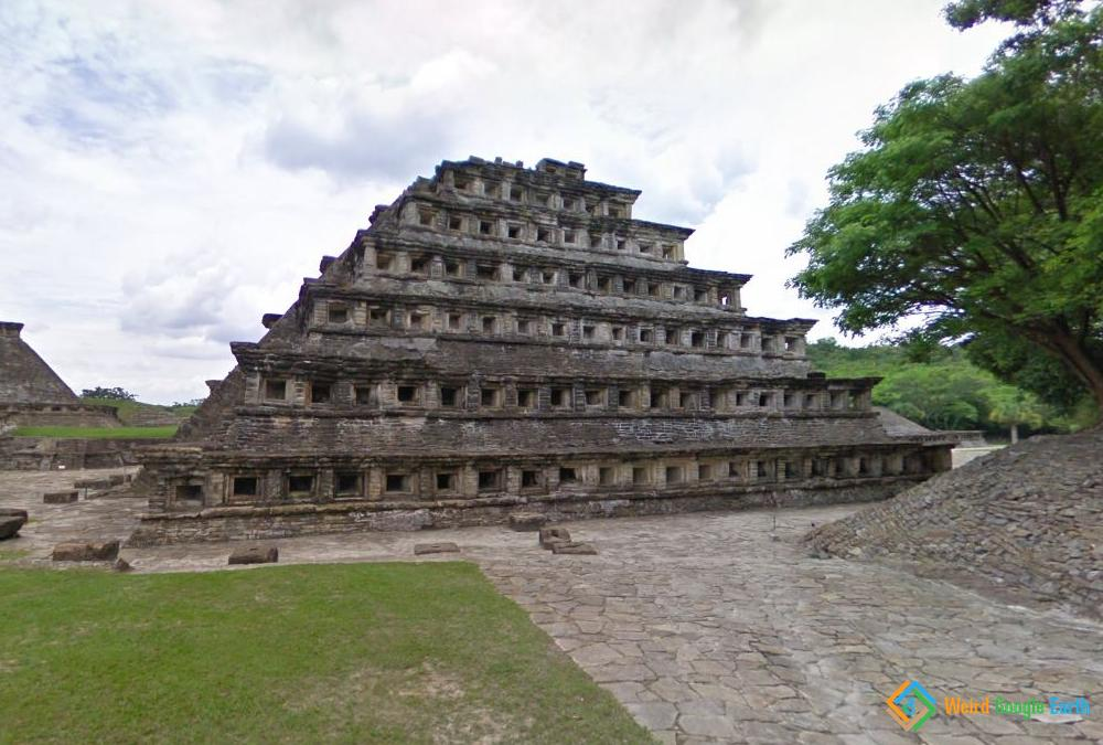 Pyramid of the Niches, Papantla, Mexico