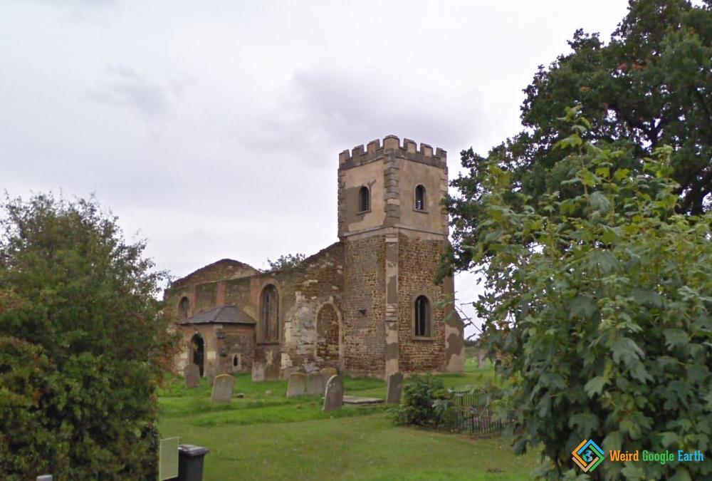 Abandoned All Saints Church, Ridgmont, England