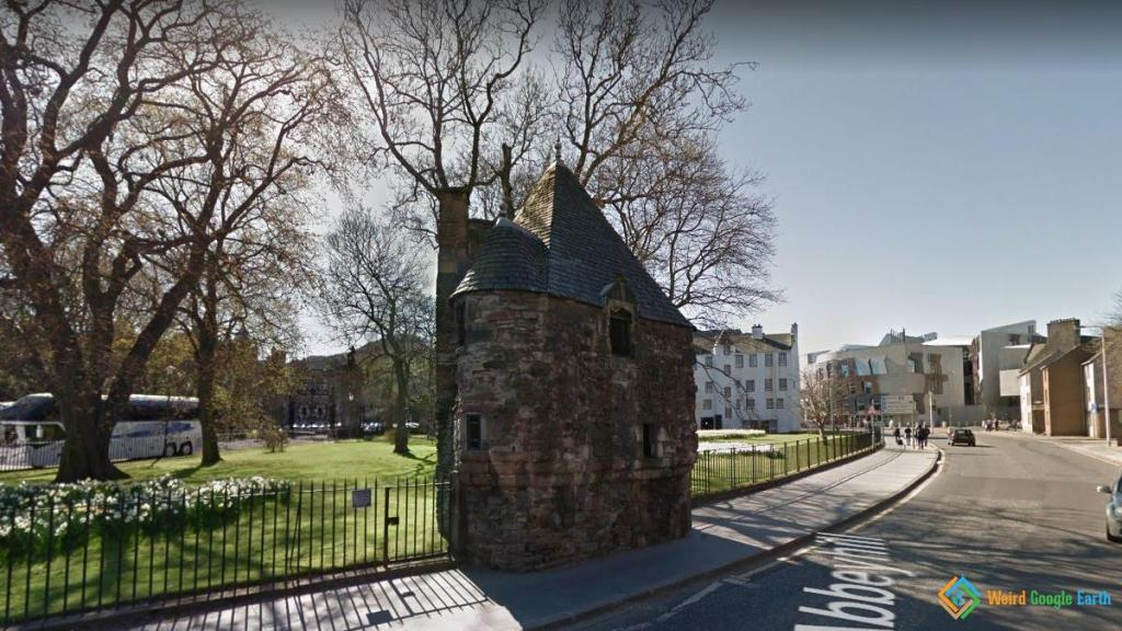 Queen Mary's Bath House, Edinburgh, Scotland