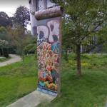 A Piece of Berlin Wall, Brussels, Belgium