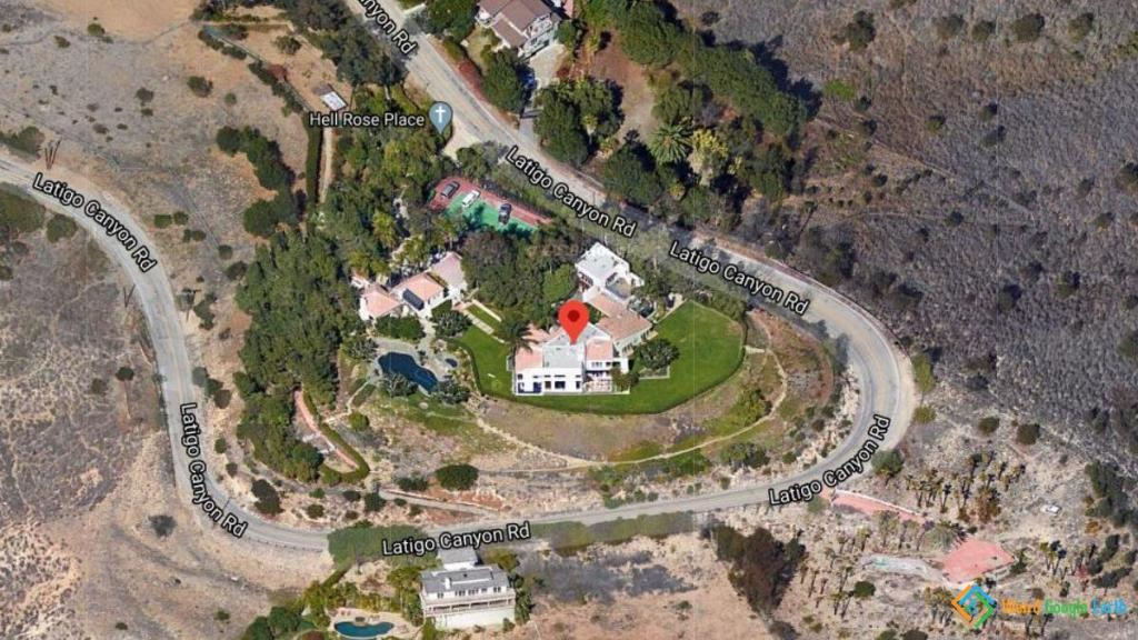 Axl Rose's Home, Malibu, California, USA