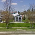 Glass Bottle Structures, Treherne, Manitoba, Canada
