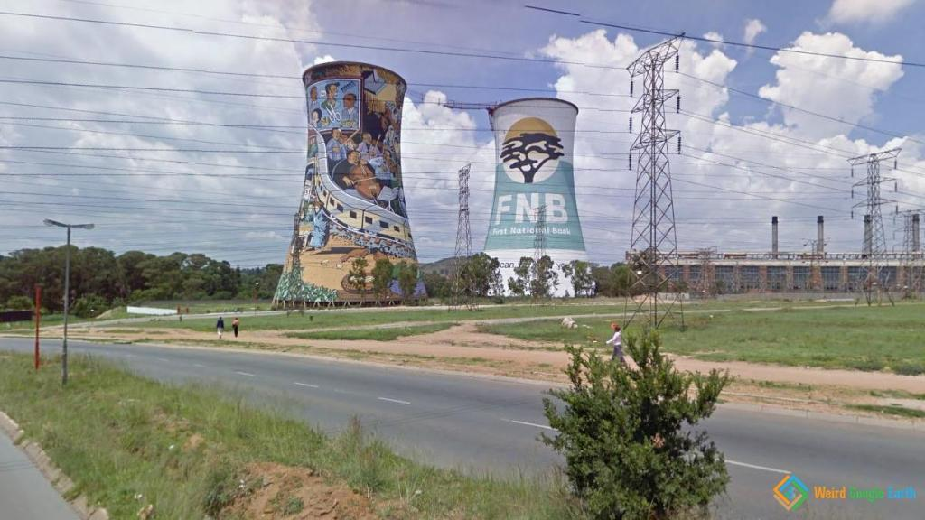 Orlando Power Station, Soweto, South Africa