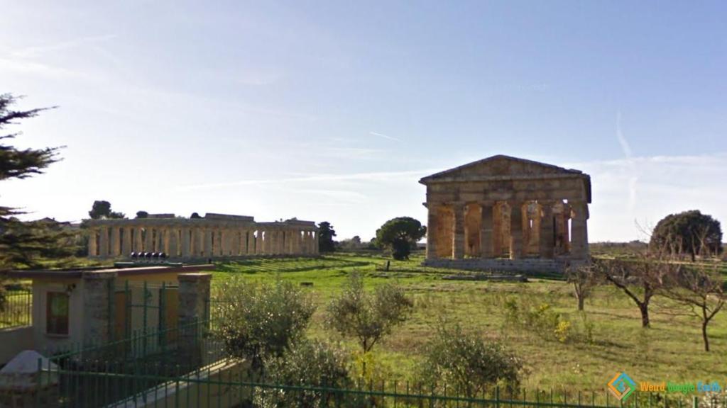 Temple of Hera, Paestum Santa Venere, Italy