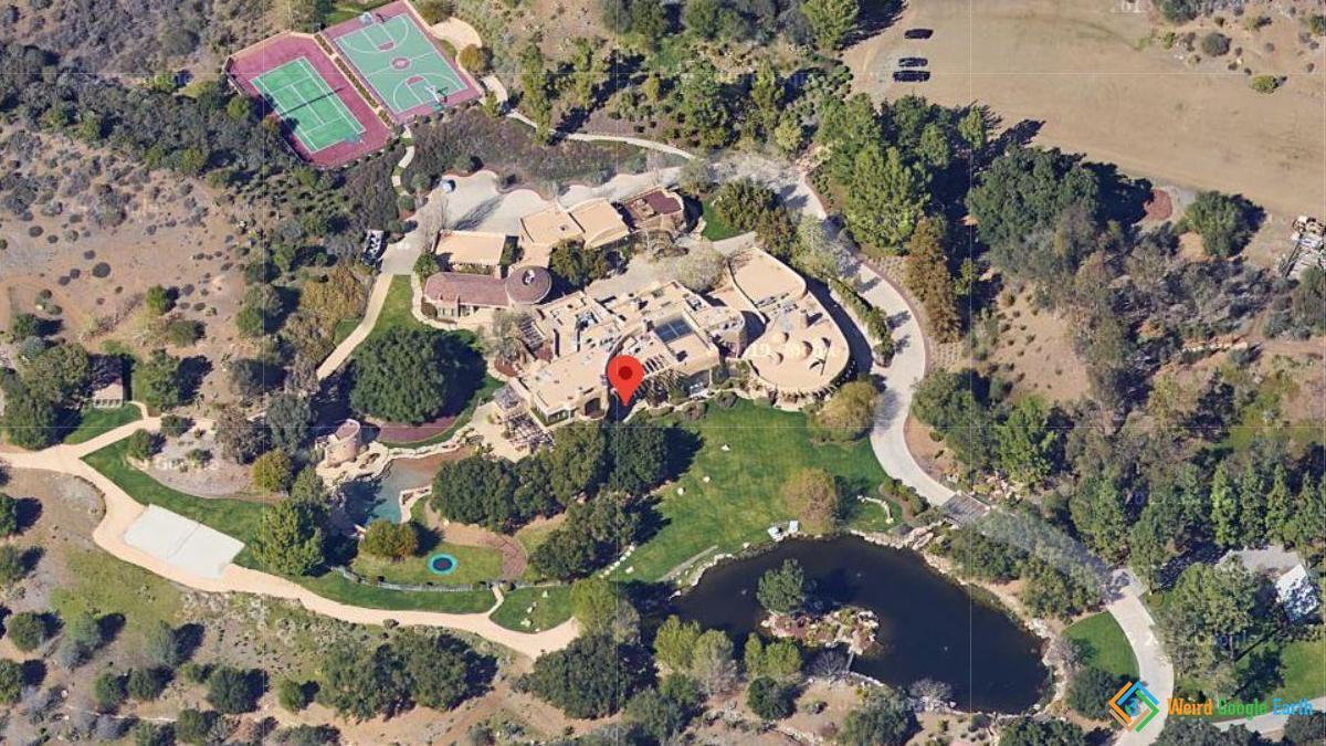 Will Smith S House Weird Google Earth