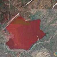 Blood Red Lake