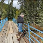 Hobbit Grandpa, Angel Creek, Alaska, USA