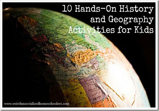 10 HandsOn History and Geography Activities for Kids