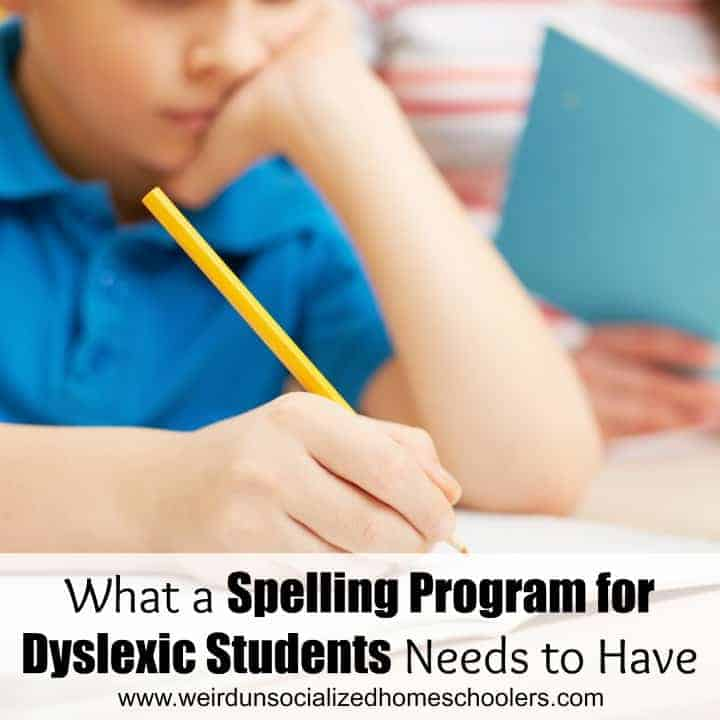 What to Look for in Spelling Program for Dyslexic Students ...