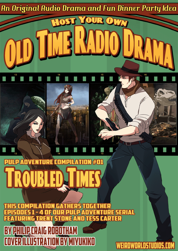 Pulp Adventure - PACMP001 - Troubled Times